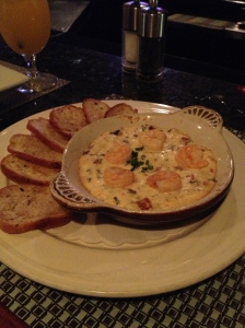 Gorgonzola Dip with Maine Shrimp