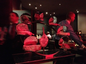 Beef Display Cart
